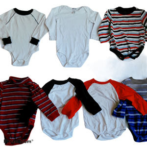 Various Brands Boys Sz 24M One Piece Long Sleeve